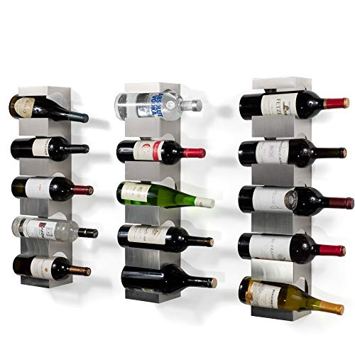 3 bottle hanging wine rack - 9
