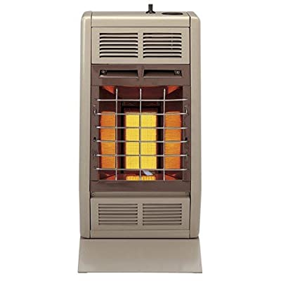 Empire Infrared Heater Natural Gas 10000 BTU, Thermostatic Control