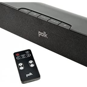 Polk Audio HD Sound Bar 31 Inch Universal 2 Channel Bluetooth 150W