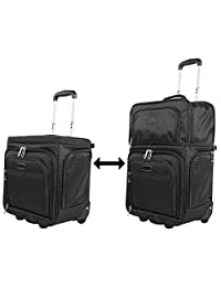 Ciao Convertible Expandible Under Seat Carry-On Luggage