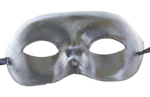 Black V Men's Woman Lady Sexy Mardi Gras Ball Mask Man Haloween Costume Party (Hulk Candy Bowl Holder)