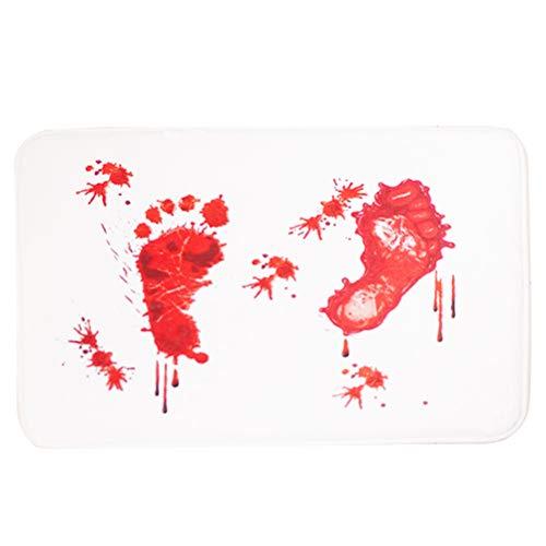 Footprint Pattern Floor Mat