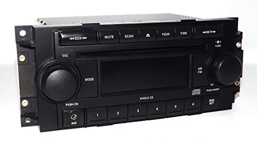 Jeep Dodge Chrysler Radio 2004-2010 AM FM CD Aux mp3 iPod Input P05064171AE - Car Chrysler Jeep Dodge Radio