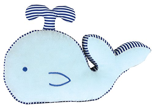 Stephan Baby Plush Whale-Shaped Pillow Toy