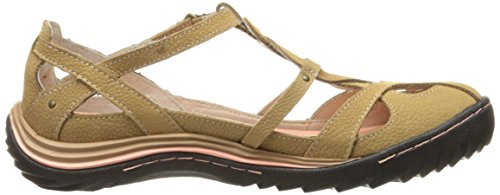 Women's Spain Oatmeal Jambu Women's Jambu Flat Flat Spain Bq4wXxI