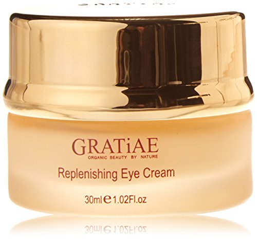 Gratiae Organics Replenishing Eye Cream, 1.02-Ounce