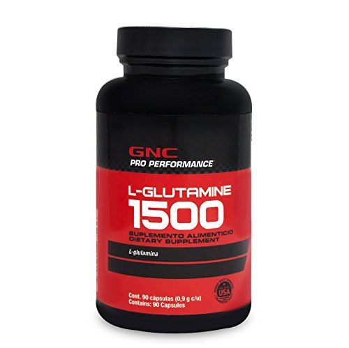 GNC Pro Performance L-Glutamine 1500 mg, 90 caps