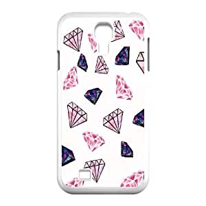 New Fashion Diamond Customized Protective Cover Case for Samsung Galaxy S4 I9500