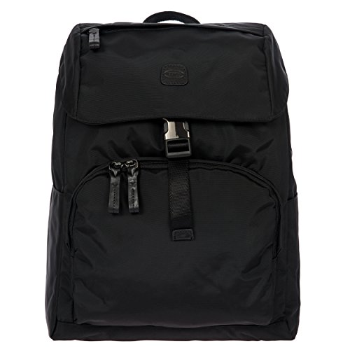 Bric's X-Bag/x-Travel 2.0 Excursion Laptop|Tablet Business Backpack, Black/Black, One Size by Bric's