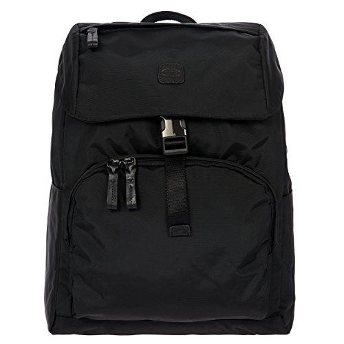 Excursion Bag - Bric's X-Bag/x-Travel 2.0 Excursion Laptop|Tablet Business Backpack, Black/Black, One Size