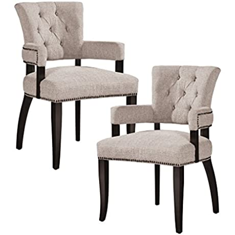 Dining Arm Chair Set Of 2 See Below Cream