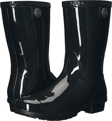 - UGG Women's Sienna Rain Boot, Black, 6 B US