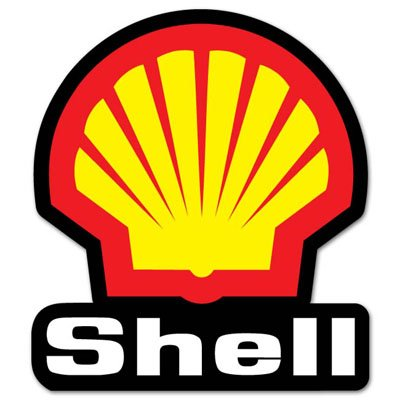 Shell racing motorsport car styling vynil car sticker decal select size
