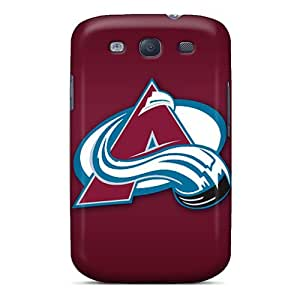 JasonPelletier Samsung Galaxy S3 High Quality Hard Cell-phone Case Customized Attractive Colorado Avalanche Pictures [bJv12472LXYF]