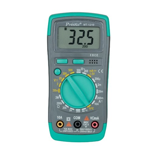 Eclipse Tools MT-1210 Pro'sKit Multimeter, Digital by Eclipse