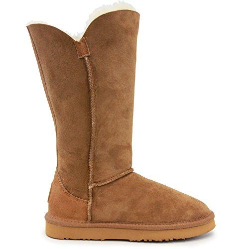 Lamo Womens Liberty 12 Fashion Boot Castagna