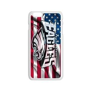 Generic NFL Philadelphia Eagles Team Logo Cell Phone Back Case for iPhone 6/6S 4.7 inch