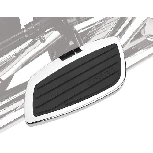 (Cobra Swept Passenger Floorboards for 2006-2012 Yamaha Roadliner/Stratoliner - Chrome)