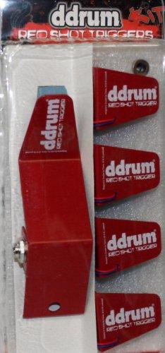 ddrum Red Shot 5 Piece Trigger Kit (Red Ddrum Drum)