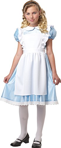 Alice Girl's Costume, Small, One Color -