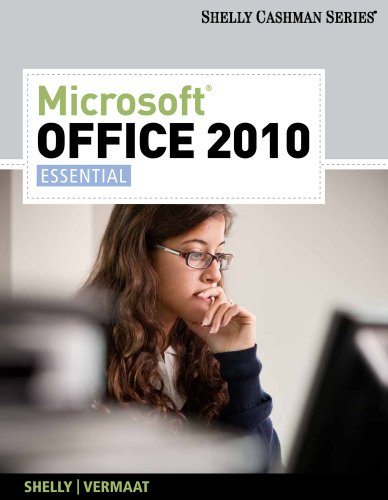 Microsoft Office 2010: Essential (Available Titles Skills Assessment Manager (SAM) - Office 2010) Pdf