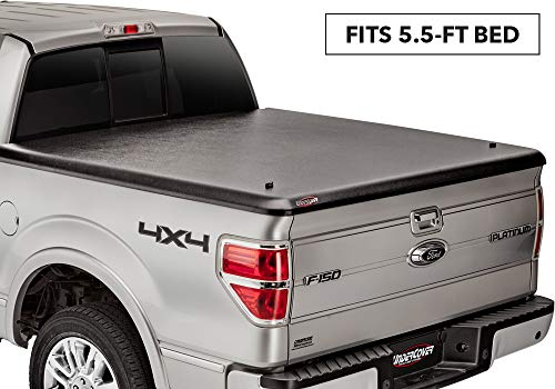 UnderCover Classic One Piece Truck Bed Tonneau Cover | UC2030 | fits 2000-2004 Ford F-150 Super Crew Heritage, 5.5ft Short Bed Crew ()