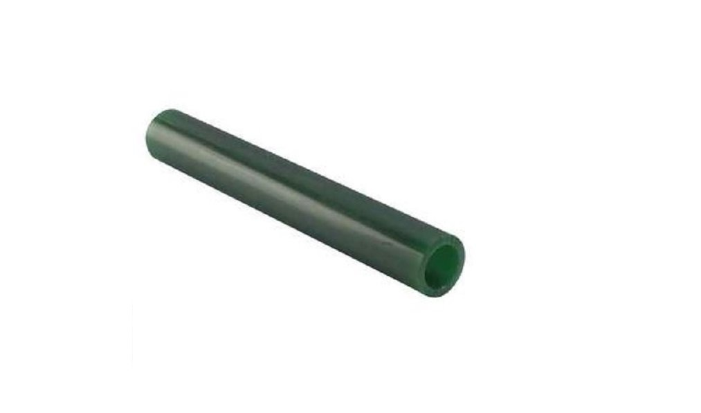 Matt Carving Wax CA-2719 Round Wax Hollow Tube 1-1/3 x 5/8 Green Paaz Jewelry Supply