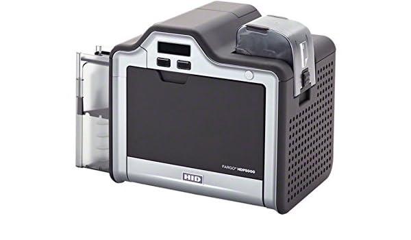 Fargo HDP5000 sola cara impresora de tarjetas con ...
