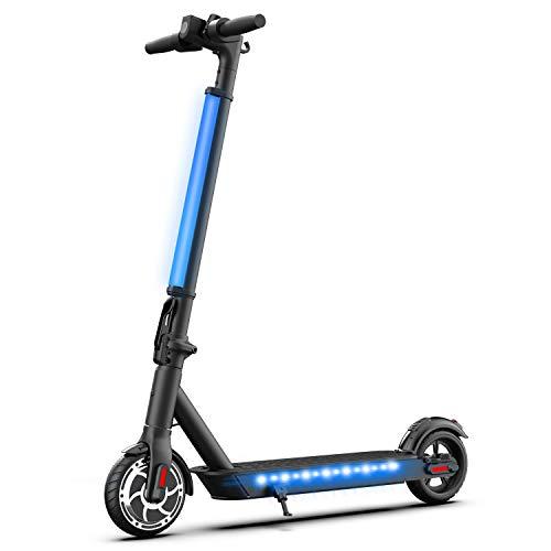 """Hiboy Patinete Eléctrico S2 Lite - Neumáticos sólidos de 6.5"""" - hasta 16 KM de Largo Alcance y 21 KM/H Scooter portátil Plegable para Adultos con Doble Sistema de frenado a buen precio"""