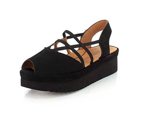 L`amour Des Pieds Womens Adelais Sandal Black