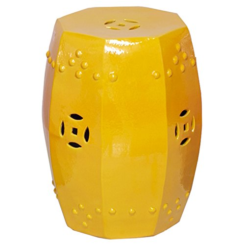 Emissary Home & Garden Octagon Stool/Table Yellow ()