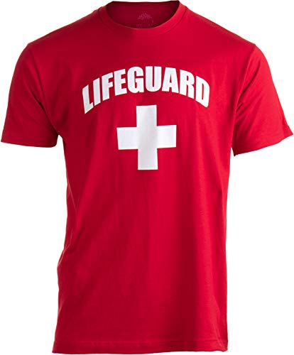 LIFEGUARD | Red Lifeguarding Unisex Uniform Costume T-shirt for Men Women - XL]()