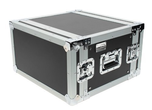 XSPRO XS6U-14 6 Space 6U ATA Effects Rack Flight Tour Case 19