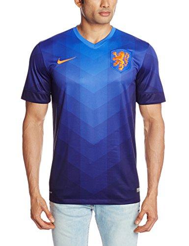 Nike Netherlands Away Stadium Jersey World Cup 2014 [Bright Blue] (S)