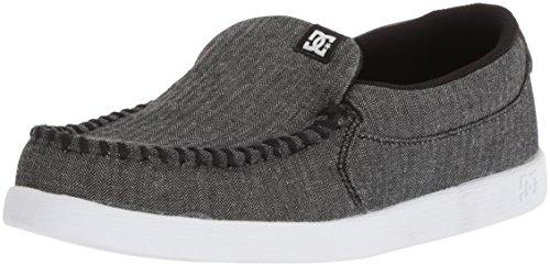 (DC Boys' Villain TX SE Skate Shoe DK Shadow/Black 3 M US Little)
