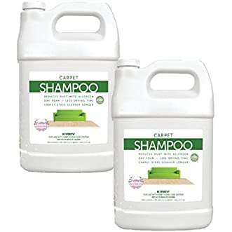 2 Gallons Genuine Kirby Allergen Shampoo (Lavender Scent). Use with all model Kirby Vacuum Cleaner Shampooer Systems.