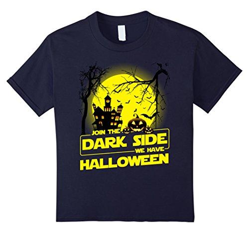 Kids Join To The Dark Side We Have Halloween T-shirt 12 (Dark Side Halloween)