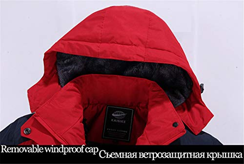 Th Cappuccio Parka Maschili Black Outwear Inverno Caldo Cappotti amp;meoostny Giacche Uomo Militari Soprabito Con Antivento bf6gvyY7