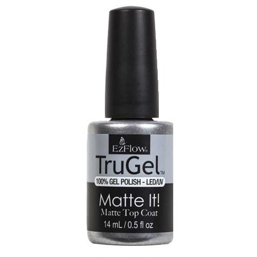EzFlow TruGel Gel Polish - Matte It! Top Coat - 14ml / - Gel Ezflow