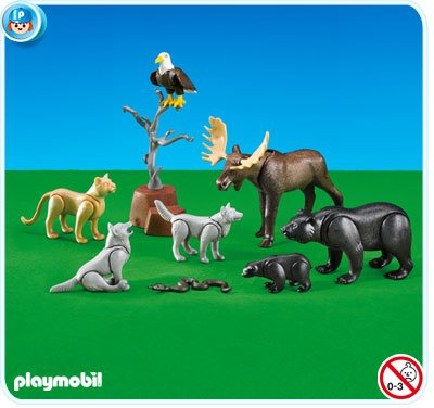 Amazondeplaymobil 7530 Waldtiere Folienverpackung