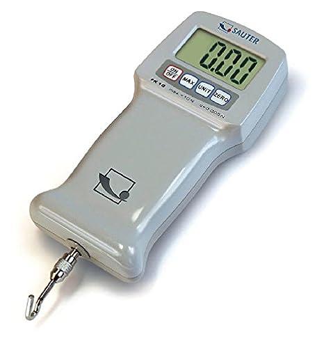 Sólido instrumento de medición de fuerzas de tracción y de compresión [Sauter FK 100]