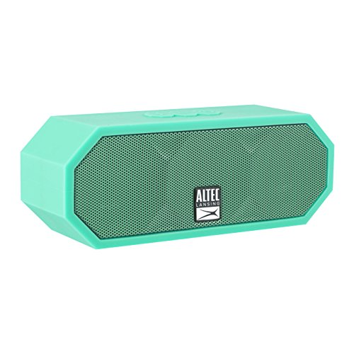 Altec Lansing IMW457 Jacket H2O Lightweight, Great Sound Compact Hands-Free Waterproof Indoor/Outdoor Bluetooth Speaker, Ultimate Audio Bluetooth Wireless 30FT Range Mint Green