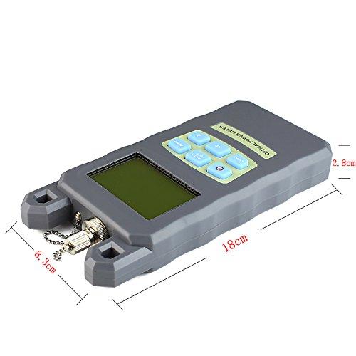 goeco -70 a + 10dBm comprobador de cable de fibra óptica FC SC y 2,5 mm 30 mW localizador Visual de fallos de luz rojo con SC y FC conector: Amazon.es: ...