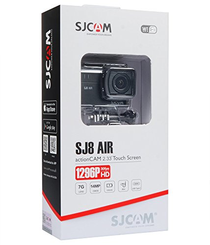 SJCAM SJ8 Air 1296P 60FPS Action Camera 14MP WiFi Sports Cam with 160