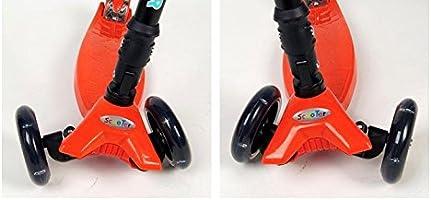 Amazon.com: Kingsley Scooters para niños Deluxe con luz LED ...