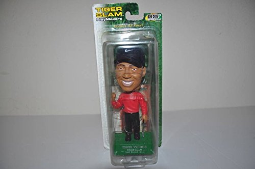 Tiger Woods Tiger Slam Bobblehead MINT rare by Playmakers 2000 Brittish Open