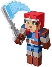 Minecraft GNC24 – Minecraft Dungeons ca 8 cm stor Valorie samlarfigur och tillbehör