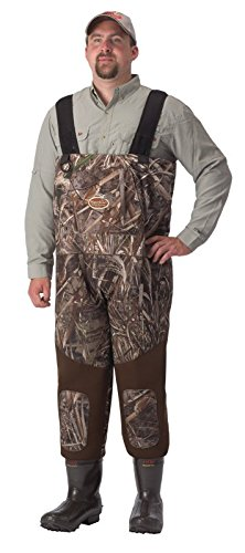 Waterfowl Wading Systems Neo Breathable Stout Hybrid Bootfoot Wader, Size 11