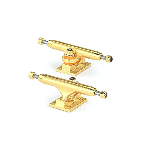 Blackriver Gold/Gold Wide 2.0 Fingerboard Trucks - 32mm