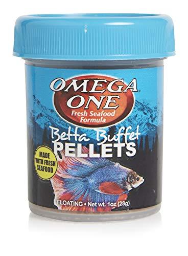 Omega One Betta Food (Pellet) (Best Pellet Food For Betta Fish)